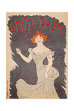 Poster for Actress Odette Dulac Posters by Leonetto Cappiello