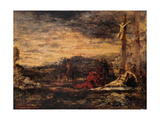Calvary Art by Gustave Moreau