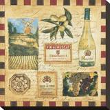 From the Wine Land II Stretched Canvas Print by Elizabeth Jardine