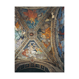 Carafa Chapel, Vault Print by Filippino Lippi