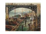 Coalmen Plakater af Claude Monet