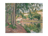 Loings Canal Prints by Camille Pissarro