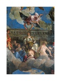 Triumph of Venice (Apotheosis of Venice) Art by  Veronese