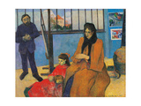Schuffenecker Family Prints by Paul Gauguin