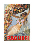 Advertising poster for Paglieri Perfume Prints by Gino Boccasile