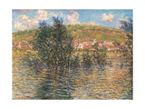 Vetheuil, View from Lavacourt Giclee Print by Claude Monet