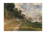 Basin at Argenteuil Giclee Print by Claude Monet