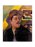 Self portrait with Yellow Christ Posters by Paul Gauguin
