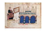 Italian Papyrus with image of Man (St. Mark), and Domed Building (St. Mark's, Venice) 1222-1224. Prints