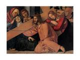 Christ Fell under the Cross Art by Francesco Bonsignori