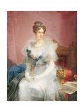 Duchess Maria Luigia of Austria Posters by Giovan Battista Borghesi