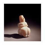 Neolithic Mother Goddess, c. 6000 B.C. National Archaeological Museum, Cagliari, Sardegna, Italy Giclee Print
