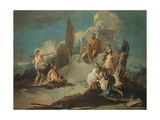 Apollo and Marsyas Prints by Giambattista Tiepolo