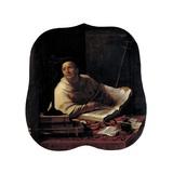 St. Augustine of Canterbury Poster von Gerrit Van Honthorst