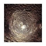 Is Paras Nuraghe, Interior Limestone Block Vault, 8th c. B.C. Province of Cagliari, Sardegna, Italy Poster