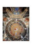 Paradise. Domed vault of the Baptistery Prints by Giusto de Menabuoi