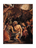 Baptism and Temptation of Christ Poster by  Veronese