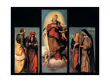Assumption of the Virgin, Sts. Jerome, Mark, Catherine, Clare Art by Moretto Da Brescia