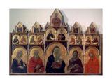 Polyptych No. 47 Posters by Duccio Di buoninsegna