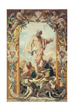 Florentine tapestry, Four Elements: Fire, 1735-1740. Palazzo Pitti, Florence, Italy Prints