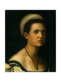 Female portrait Prints by Pontormo Carrucci
