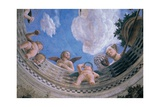 Ceiling Oculus Posters by Andrea Mantegna