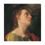 Coronation of the Virgin with Four Saints Giclee Print by Guido Reni