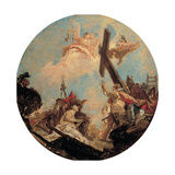 Discovery of the True Cross and St. Helena Prints by Tiepolo Giambattista