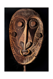 African Mask, 19th c. Prints