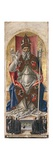 St. Ambrose, from Polyptych with St. Ambrose Blessing Print by Bartolomeo Vivarini