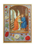Miniature painting in the Grimani Breviary, a Flemish illuminated manuscript. 1520. Venice, Italy Prints by  multiple