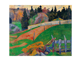 Fence Poster by Paul Serusier