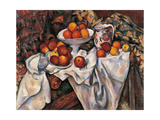 Apples and Oranges Giclee Print by Paul Cézanne