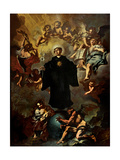 St. Nicholas of Tolentino Poster by Vincenzo Damini