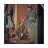 Legend of the Cross, Torture of the Jew Posters by  Piero della Francesca