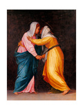 Carro della Zecca, The Visitation Prints by Pontormo Carrucci
