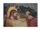 Passion, The Kiss of Judas Giclee Print by  Giotto di Bondone