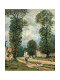 Road to Versailles Prints by Alfred Sisley