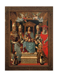 Sforzesca Altarpiece Posters by  Master of the Pala Sforzesca
