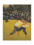 Fight Affischer av Paul Serusier