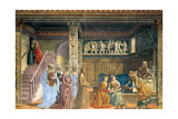 Nativity of Mary Prints by  Ghirlandaio