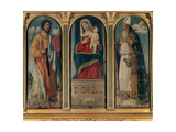 Enthroned Virgin & Child, Sts. Bartholomew and Prosdocus Posters by Cima da Conegliano
