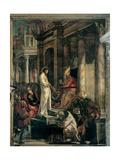 Christ before Pilate Plakaty autor Tintoretto