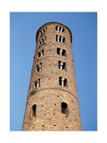 Bell tower of Sant'Apollinare Nuovo, 9th c. Ravenna, Italy Print