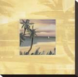 Souvenirs des îles I Reproduction sur toile tendue par Jeff Surret