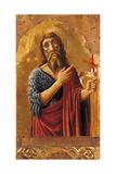 Cagli Polyptych, St. John the Baptist Art by l'Alunno di Liberatore