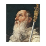 Coronation of the Virgin with Four Saints Poster von Guido Reni