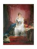 Duchess Maria Luigia of Austria Poster by Giovan Battista Borghesi