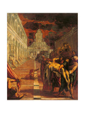 Stealing of the Dead Body of St. Mark Print by  Tintoretto