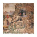 Burial of Sts. Valerian and Tiburtius Prints by Amico Aspertini